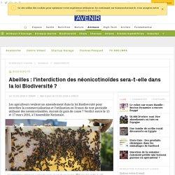 Abeilles : l'interdiction des néonicotinoïdes sera-t-elle dans la loi Biodiversité ? - Sciencesetavenir.fr