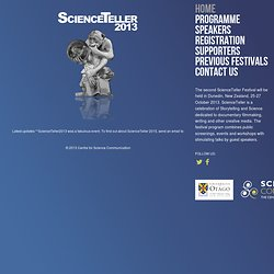 ScienceTeller Festival Home Page