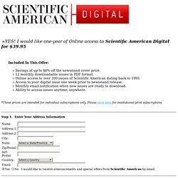 Scientific American Digital
