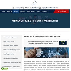 Dissertation & Thesis Writing Services