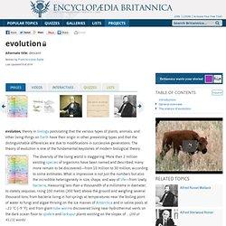 evolution (scientific theory)