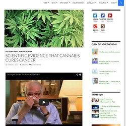 Scientific Evidence that Cannabis Cures Cancer