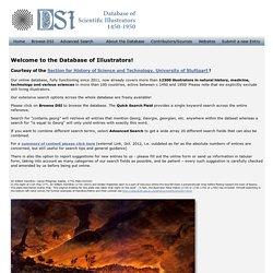 DSI - Database of Scientific Illustrators