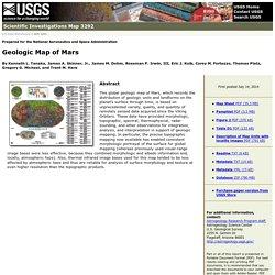 USGS Scientific Investigations Map 3292: Geologic Map of Mars