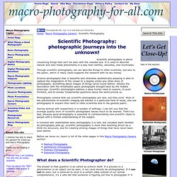 Scientific Photography