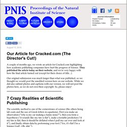 7 Crazy Realities of Scientific Publishing