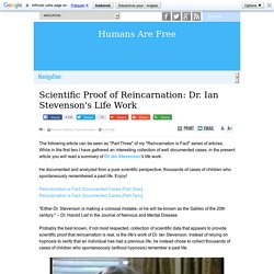 Scientific Proof of Reincarnation: Dr. Ian Stevenson's Life Work