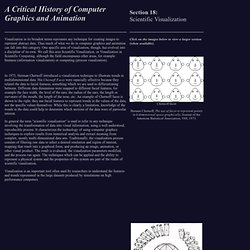 Section 18: Scientific Visualization