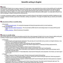 Science essay in english