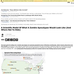 A Scientific Model Of What A Zombie Apocalypse Would Look Like (And Where Not To Hide)