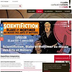 Scientifiction, Blake et Mortimer au musée des Arts et Métiers