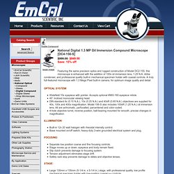EmCal Scientific™ - Micro and Macro Imaging Product Specialists - Micro and Macro Imaging Product Specialists