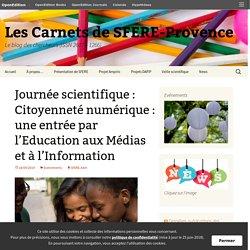 Journée scientifique : Citoyenneté numérique : une entrée par l'Education aux Médias et à l'Information