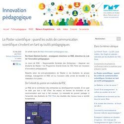Le Poster scientifique : quand les outils de communication scientifique s'invitent en tant qu'outils pédagogiques