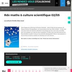Rdv maths & culture scientifque - Sortir à Eaubonne