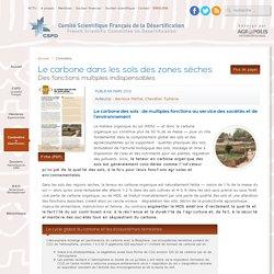 Le carbone dans les sols des zones sèches - CSFD - Comité Scientifique Français de la Désertification