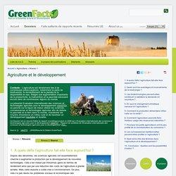 Consensus Scientifique sur l'Agriculture et le développement