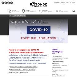 La Rotonde Saint-Etienne : info/intox sur le covid 19