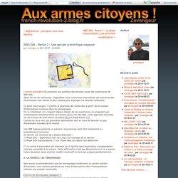 2 NDE/EMI 07/09/11 1 percée scientifique majeure SITE Aux armes citoyens !