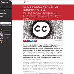 Le guide Creative Commons du partage scientifique - Omniscienc...