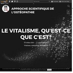 Vitalisme de l'ostéopathie