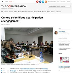 Culture scientifique : participation et engagement