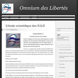ARTICLE Conscience délocalisée & N.D.E (site omnium des libertés)