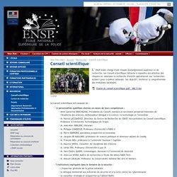 Conseil scientifique - Recherche - Ecole Nationale Supérieure de la Police