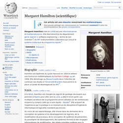 Margaret Hamilton (scientifique)
