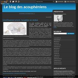 Scientifiquement prouvé, l'acouphène est cérébral - Le blog des acouphéniens