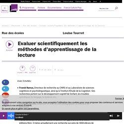 Evaluer scientifiquement les méthodes d'apprentissage de la lecture