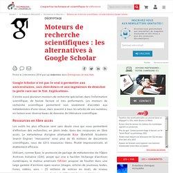 Moteurs de recherche scientifiques : les alternatives à Google Scholar