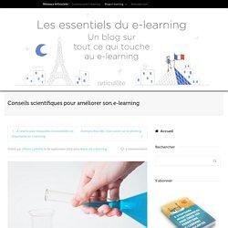 Conseils scientifiques pour améliorer son e-learning