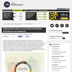 ResearchGate, réseau social pour scientifiques : interview de son fondateur