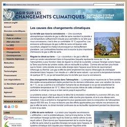 Données scientifiques / Causes des changements climatiques