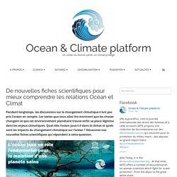 De nouvelles fiches scientifiques pour mieux comprendre les relations Océan et Climat – Ocean & Climate platform