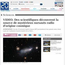 VIDEO. Des scientifiques découvrent la source de mystérieux sursauts radio d'origine cosmique