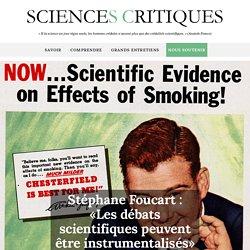 SCIENCES CRITIQUES 01/09/15 Stéphane Foucart : «Les débats scientifiques peuvent être instrumentalisés»