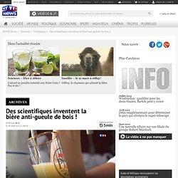 Des scientifiques inventent la bière anti-gueule de bois ! - Sciences
