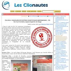 FIG 2014: Concours de posters scientifiques MAPPEMONDE - FIG