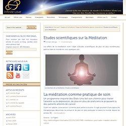 Etudes scientifiques sur la Méditation – Infinite Love