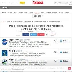 Des scientifiques rebelles organisent la résistance contre la censure de Trump