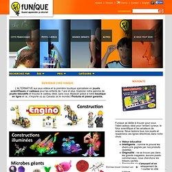 Jouets scientifiques et matérial pédagogique Funique - Funique - Jouets éducatifs