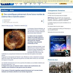 Des scientifiques préviennent d'une future montée de violence liée à l'activité solaire!