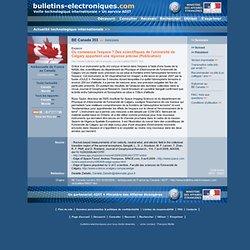2009/05/05> BE Canada353> Où commence l'espace ? Des scientifiques de l'université de Calgary apportent une réponse précise (Publication)