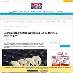 Un marathon d'édition Wikipédia pour les femmes scientifiques - Sciencesetavenir.fr