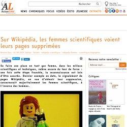Sur Wikipédia, les femmes scientifiques voient leurs pages supprimées