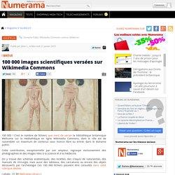 100 000 images scientifiques versées sur Wikimedia Commons