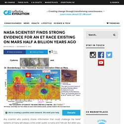 NASA Scientist Finds Strong Evidence for an ET Race Existing on Mars Half A Billion Years Ago – Collective Evolution