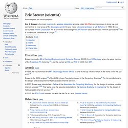 Eric Brewer (scientist)